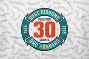 30 Ribbons & Banners set-Graphicriver中文最全的素材分享平台