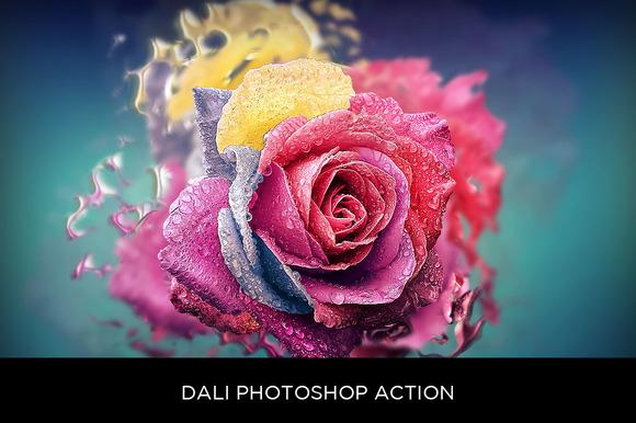 Dali Photoshop Action