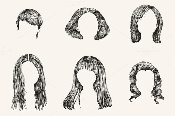Hand Made Various Women Hair Styles