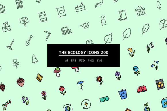 The Ecology Icons 200