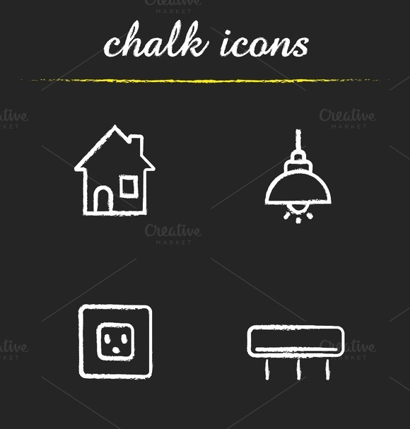 Home interior icons. Vector - Icons