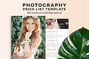 Wedding Photography Pricing-Graphicriver中文最全的素材分享平台