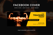 Gym Workout facebook covers-Graphicriver中文最全的素材分享平台