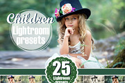 children kids Lightroom Pre-Graphicriver中文最全的素材分享平台