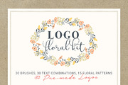 Logo Floral Kit-Graphicriver中文最全的素材分享平台
