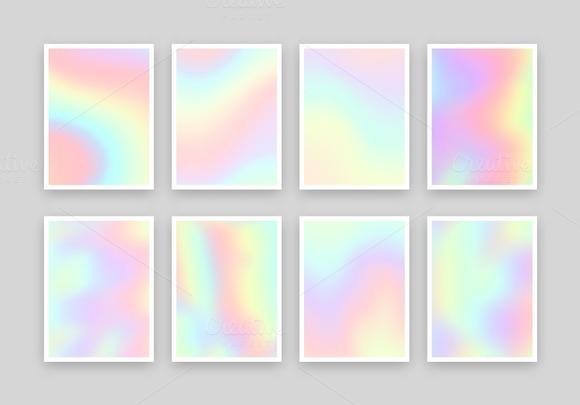 Realistic texture. Hologram - Textures