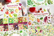 30% Off! Fruits + Vegetable-Graphicriver中文最全的素材分享平台