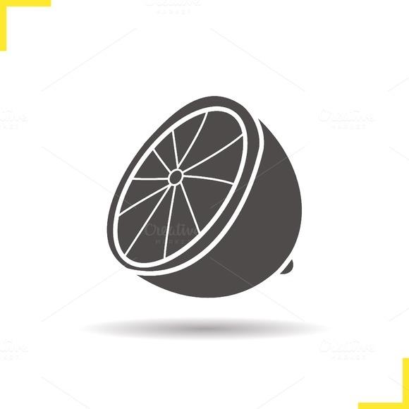 Lemon icon. Vector - Icons