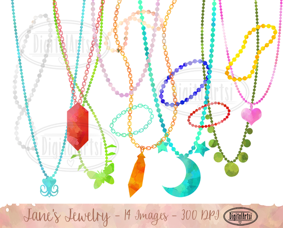 Necklace Jewelry Clipart