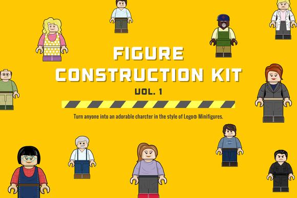 Figure Construction Kit (Vol. 1) - Illustrations