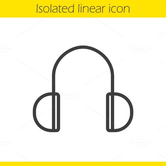Headphones icon. Vector - Icons
