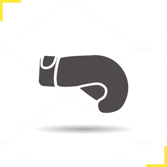 Boxing glove icon. Vector - Icons