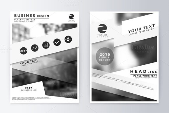 Report. Layout in A4 size. - Product Mockups