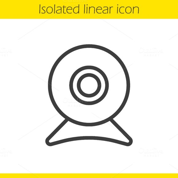 Webcam icon. Vector - Icons