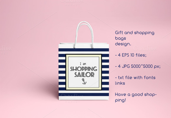 Gift and shopping bags design.vector - Graphics