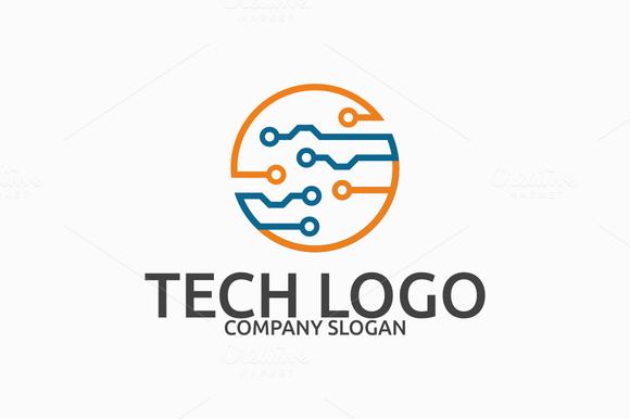 Tech Logo Ideas  Technology Logo Design  Order Logo