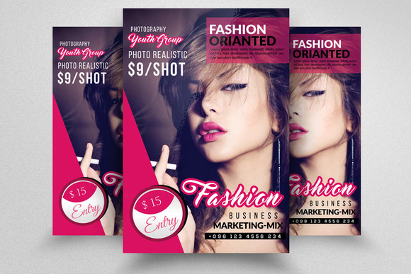 Fashion Flyer Template - Flyers
