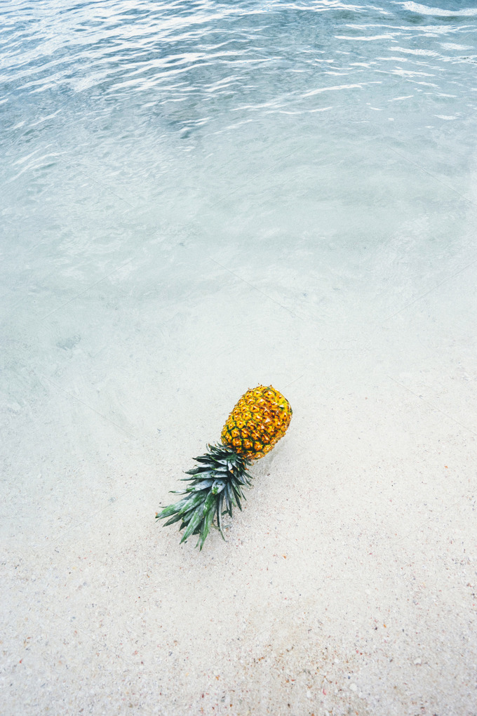 Pineapple at Beach in Mexico 8 - Nature