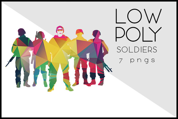 Low Poly Soldiers
