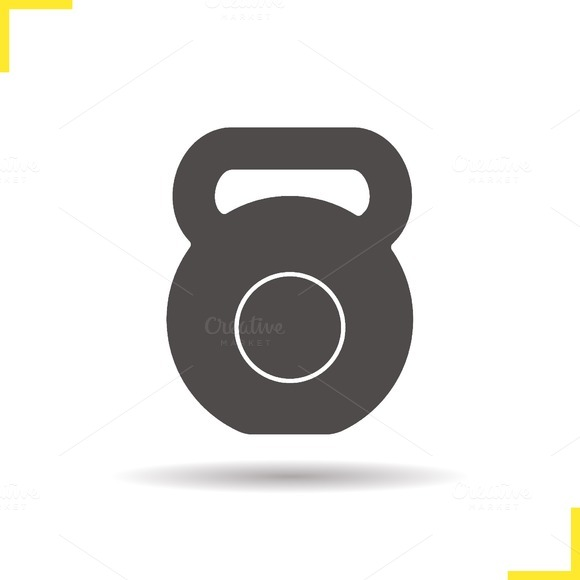 Kettlebell icon. Vector - Icons