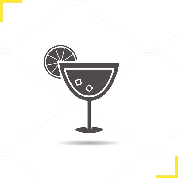 Cocktail icon. Vector - Icons