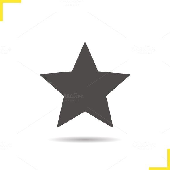 Star mark icon. Vector - Icons