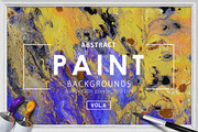 Abstract Paint Backgrounds -Graphicriver中文最全的素材分享平台