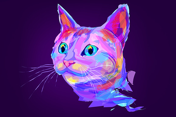 Cat (Animal set. Vector) - Illustrations