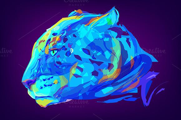 Jaguar (Animal set. Vector) - Illustrations