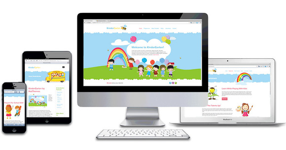 Hot Kindergarten - Joomla - 1