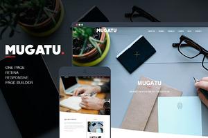 Mugatu – One Page Wordpress Theme