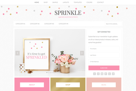 Sprinkle // An ECommerce Genesis The