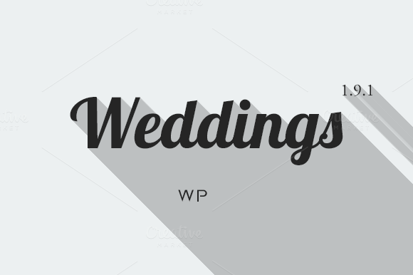 Weddings Responsive Ecommerce