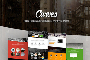 Curves Multipurpose WordPress Theme