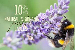 10 Natural & Organic Product Labels