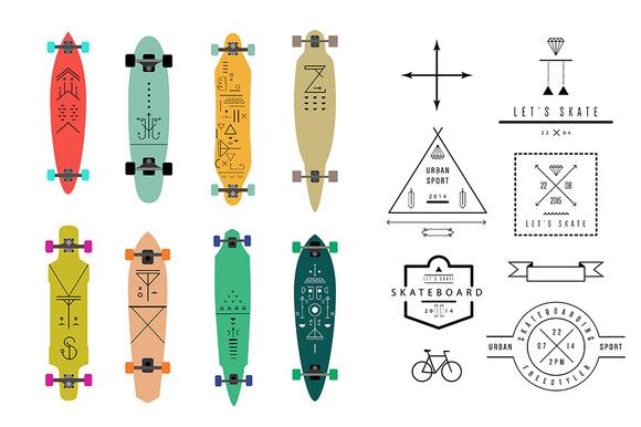 Skateboards Longboards