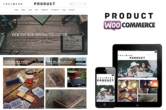 Product WooCommerce WP Theme
