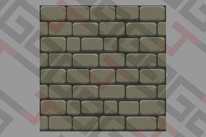 Gray bricks wall
