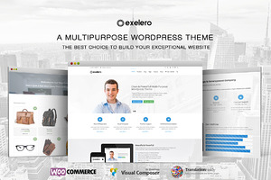 Exelero Multipurpose Wordpress Theme