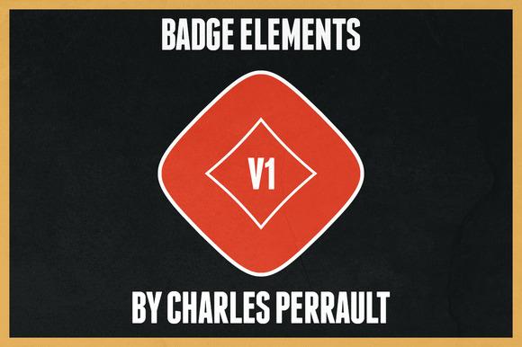 Badge Elements Vol 1