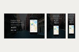 Plex - iOS App Website PSD Template