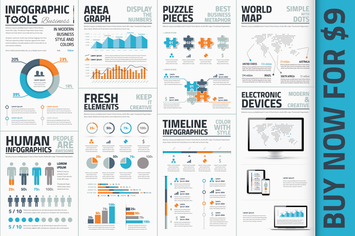 word infographic templates