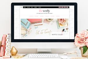 Beverly WordPress Theme