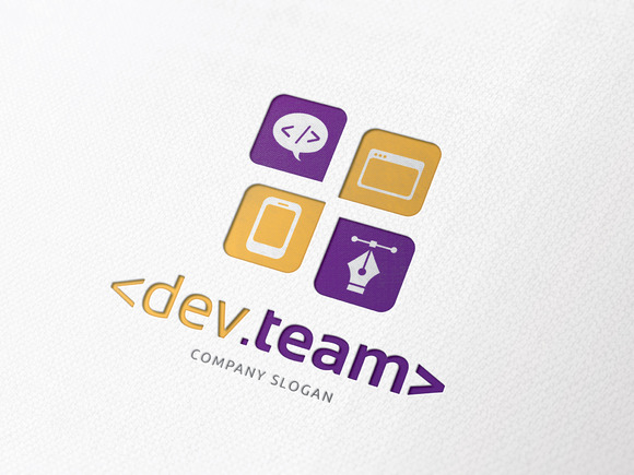 Developer Team Logo