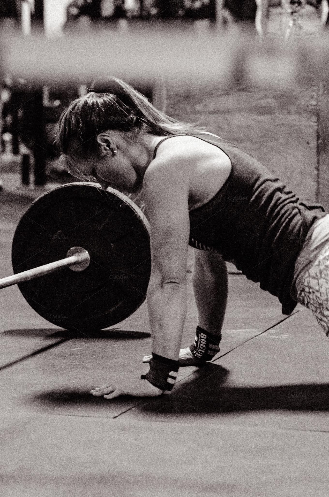Crossfit Workout Black...