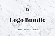 Elegant Logo Templates-Graphicriver中文最全的素材分享平台