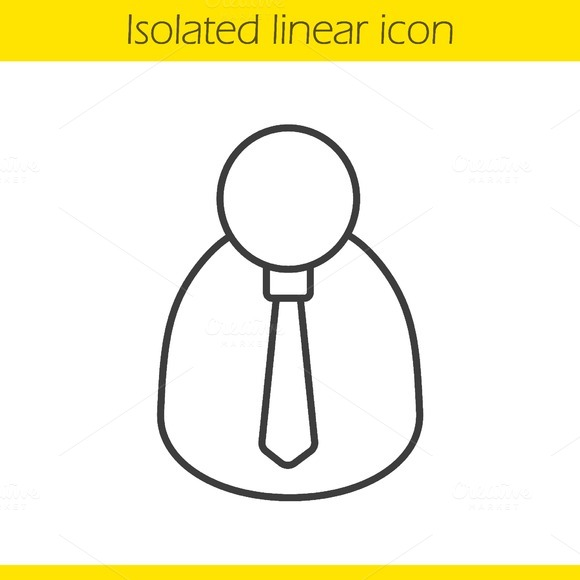 Businessman icon. Vector - Icons
