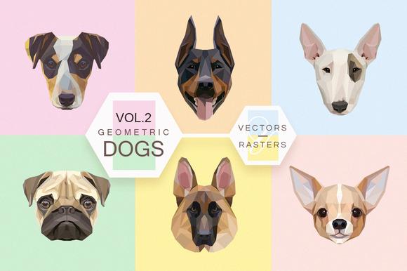 Geometric Dogs Vol.2