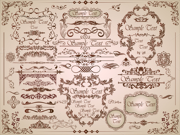 Design Ornament Frames