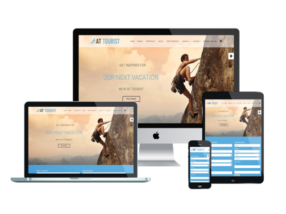 AT Tourist Onepage Joomla Template